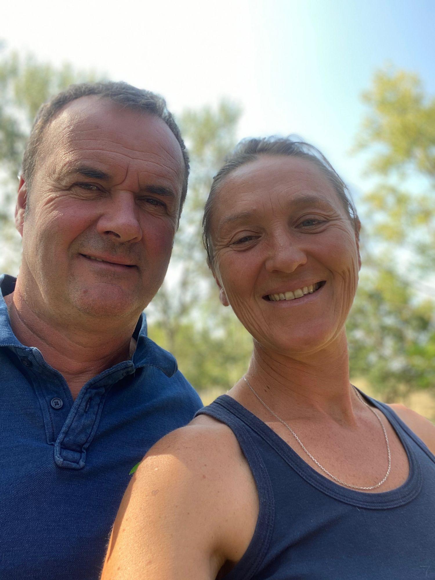 Cécile et Bruno, les heureux propriétaires de Randonnées EQUITable