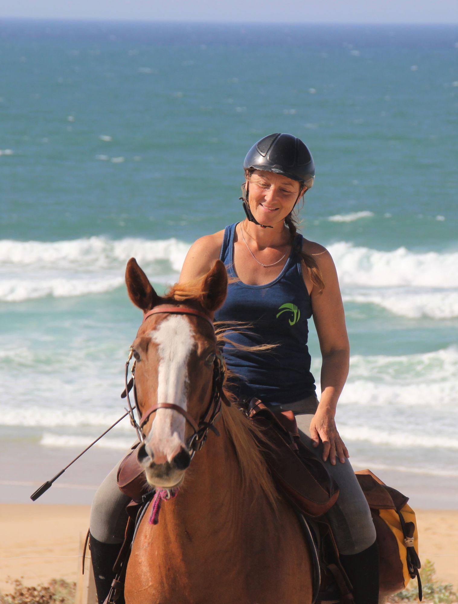 Cécile, accompagnatrice tourisme équestre